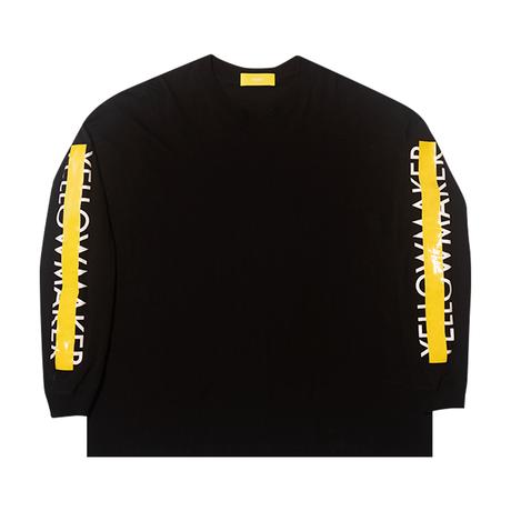 """YELLOWMAKER"" Big silhouette LS T-shirts"