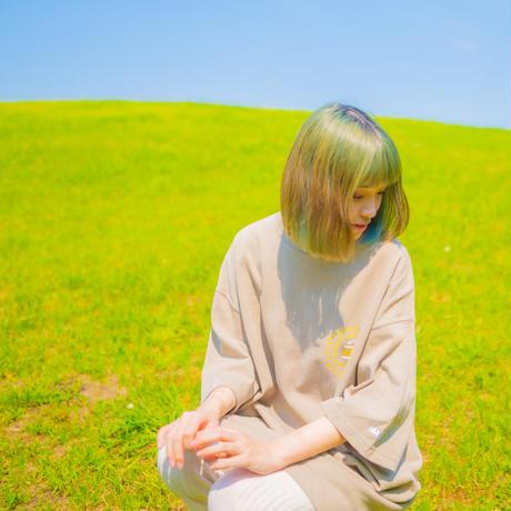 """""""TOGENKYO"""" Big silhouette T-shirts 【Khaki】"""