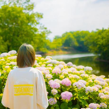 """TOGENKYO"" Big silhouette T-shirts【Beige】"