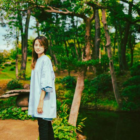 """""""TOGENKYO""""【Dreamy Sky】 Big silhouette Tie dye T-shirts"""