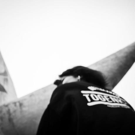 """TOGENKYO"" Big silhouette T-shirts 【Black】"
