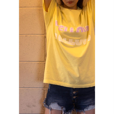 MELLOW YELLOW [ Mellow Purple ] / T-shirts [ Yellow ]