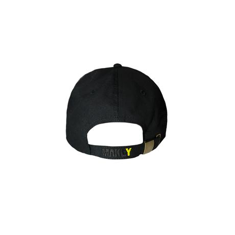 "【Black】""MAKEY LOGO"" Cap"