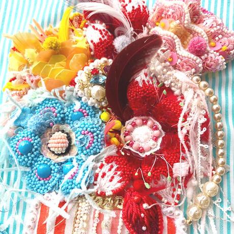 ビーズ 刺繍アート  La Vie en Fleurs お花のある暮らし