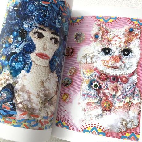 "ZINE  Book 作品集 本 刺繍   ""Les femmes N° 3"""