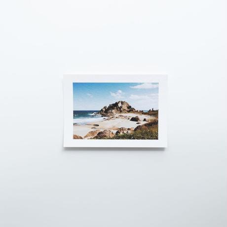 八戸 / Postcard Size Original Print 01
