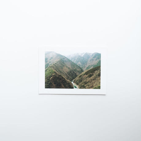 三好 / Postcard Size Original Print 07