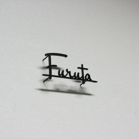 ステンレス 切り文字 表札 黒塗装 #2 【サイズ、素材オーダー可】