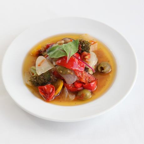 彩り野菜のアンチョビマリネ