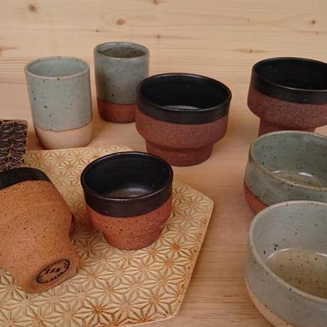 麻模様の陶板  L  Henp patterm ceramics