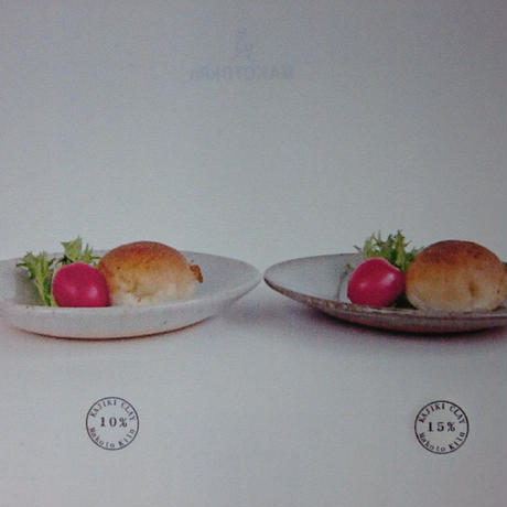 Plate size_M(WHITE / RED)