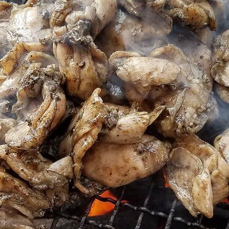 若鶏ハラミ炭火焼き100g【冷凍】