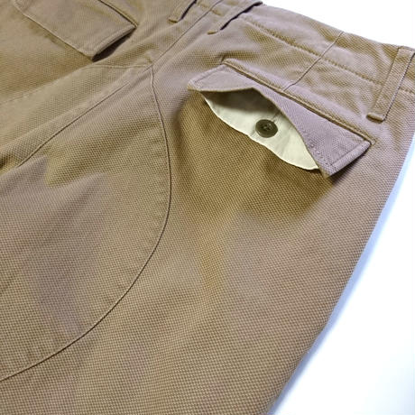 makufuri Quilted Bush Pants〈Beige〉