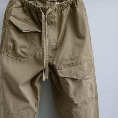 makufuri Six Pockets Utility Work Pants〈Beige 〉