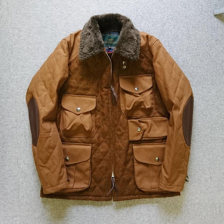 makufuri Melton Field Jacket〈Brawn〉