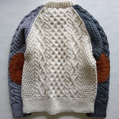 makufuri Hand Knit Fisherman<Ivory Mix>