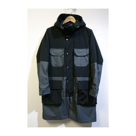 makufuri  60/40 Mountain Coat〈Black〉
