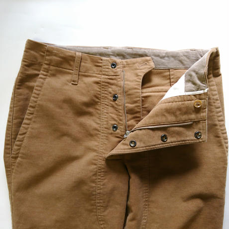 makufuri  Double Knee MX-Pants〈Camel〉