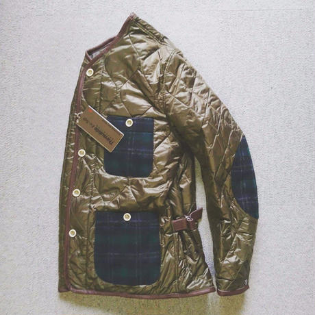 makufuri  Thinsulate Quilting Jacket〈Olive〉