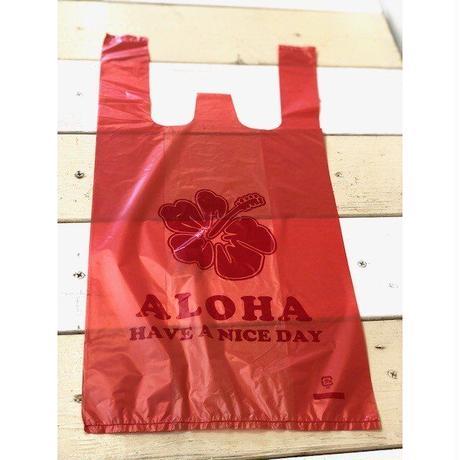 ALOHA柄レジ袋(S)2000枚
