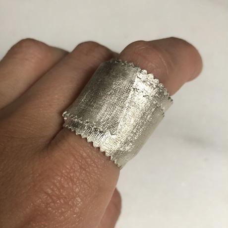 2105 BANDAGE silver 925 ring