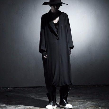 オーバーサイズ ルーズ ロング丈 薄手コート