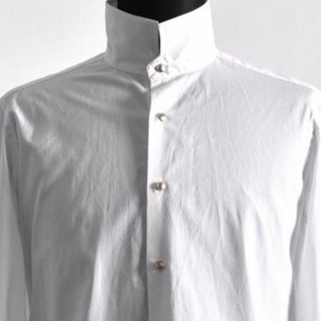 Bennu ヴェンヌ 100Sブロード スタンドカラー ドレスシャツ