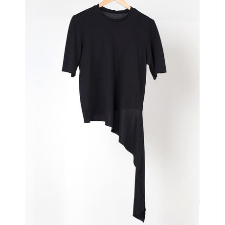 KETA GUTMANE ケタ グットマン T-shirt with a long tail ロングテール Tシャツ