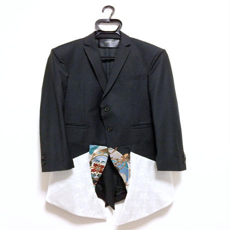 SHOKI JOETAKI JP pattern jacket 着物地切替ジャケット