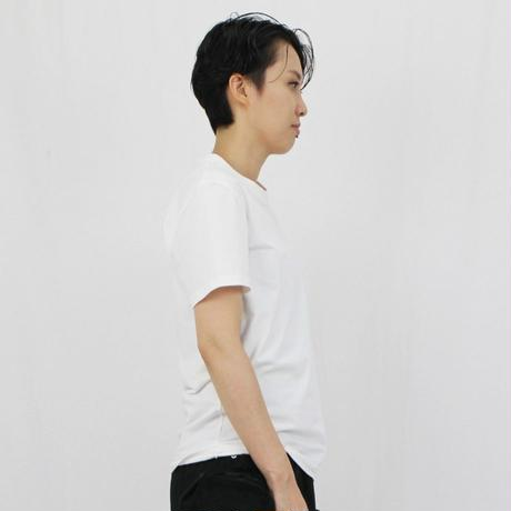 フェザー刺繍入り クルーネックTシャツ