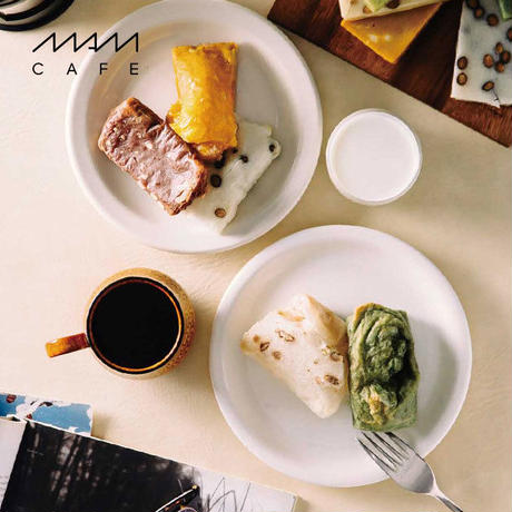MAM OMOCHI:カレー/バジル/黒豆/ゆずみかん/のりしお/抹茶くるみ/チョコレート/ブラックペッパーチーズ