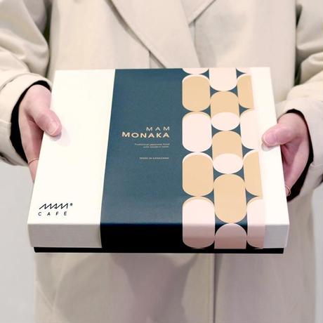 【箱のみ】MAM GIFT BOX (最中スープ・お茶漬け・お吸い物9個用)