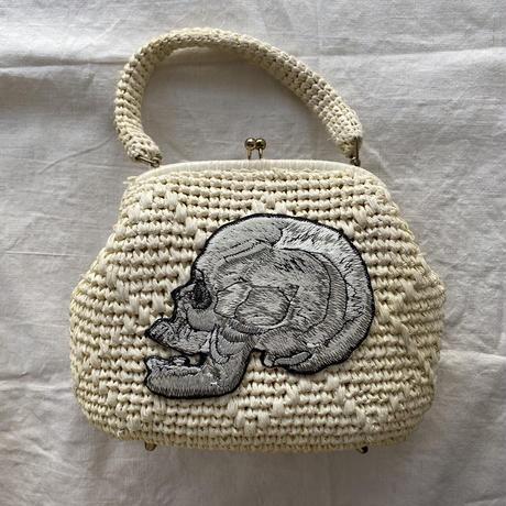 スカルのバッグ