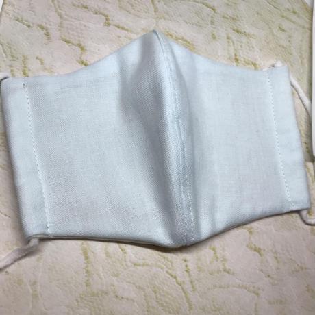 手作りマスク Wガーゼ 抗菌ゴム 大人用 2枚セット