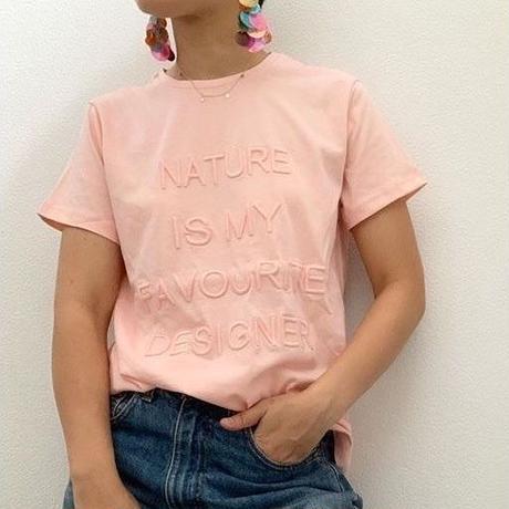 ネイチャー刺繍Tシャツ