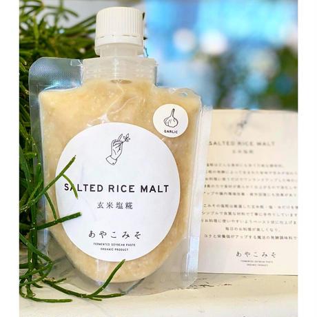 あやこみそニンニク玄米塩糀170ml