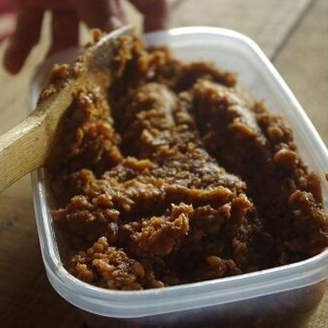 手作り味噌キット 自然栽培米味噌(出来上がり量3.6kg)