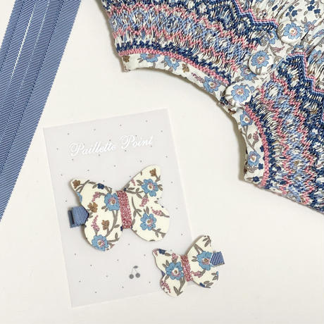 butterfly clip liberty hannahfay ハンナフェイ 単品