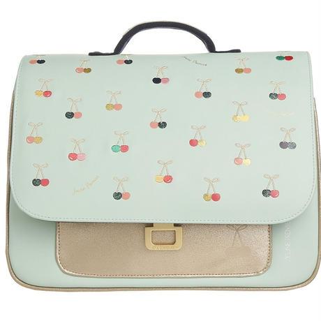 送料無料 It bag Mini Cherry Fun リュック カラフル さくらんぼ柄 ライトブルー