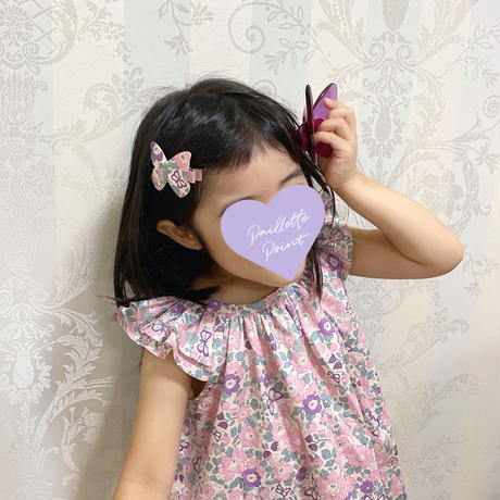 butterfly clip liberty felicite champagne gold フェリシテシャンパンゴールド Lサイズ 単品