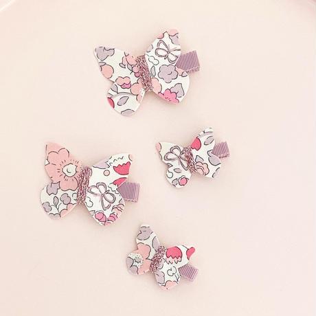 butterfly clip mini liberty betsy butterfly rose バタフライクリップミニ ベッツィバタフライ ローズ 単品
