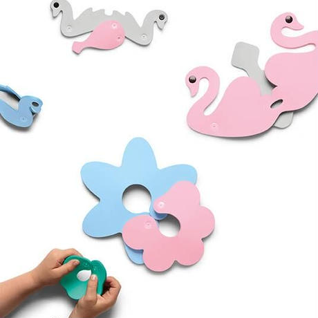 【送料無料】QUUT bath puzzle swan lake バスパズル スワンレイク 白鳥
