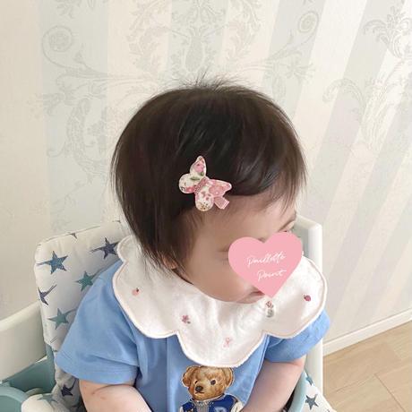 butterfly clip dot mignon white ホワイト Sサイズ 単品