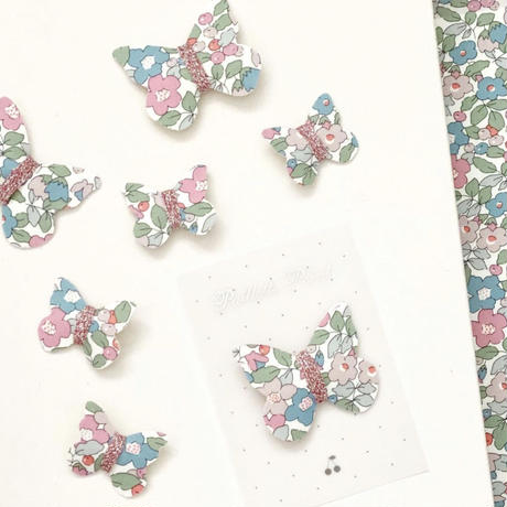 butterfly clip mini liberty betsy berry pink ベッツィベリー ピンク Sサイズ 単品