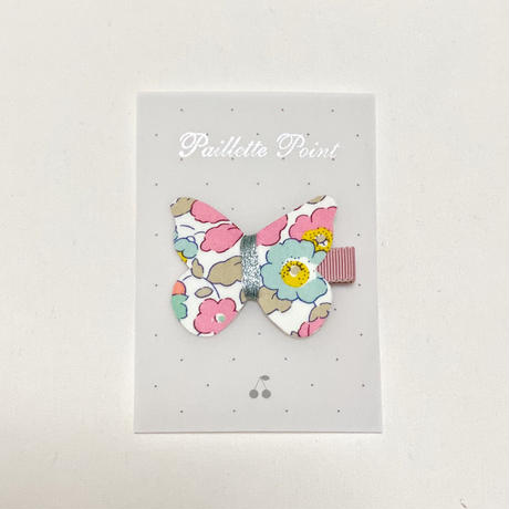 butterfly clip liberty betsy 40th pink ベッツィ40thピンク Lサイズ 単品
