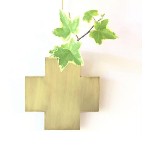 brassflowervase cross