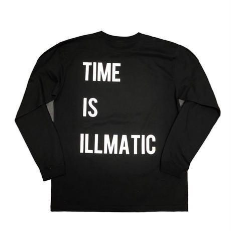 【BLK】ILLMATIC long sleeve T-shirt
