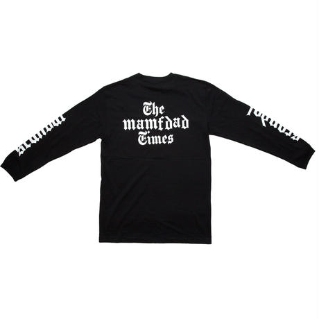 【BLK】New York Times MAG long sleeve T