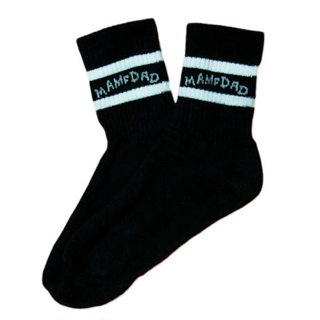 【BLK】Line Socks