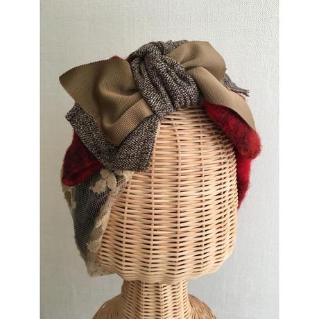 wool ribbon/Red